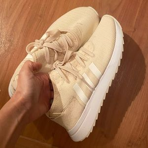 Adidas Cream and white sneaker